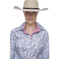 Velvette Long-Sleeve Drafting Shirt Paisley